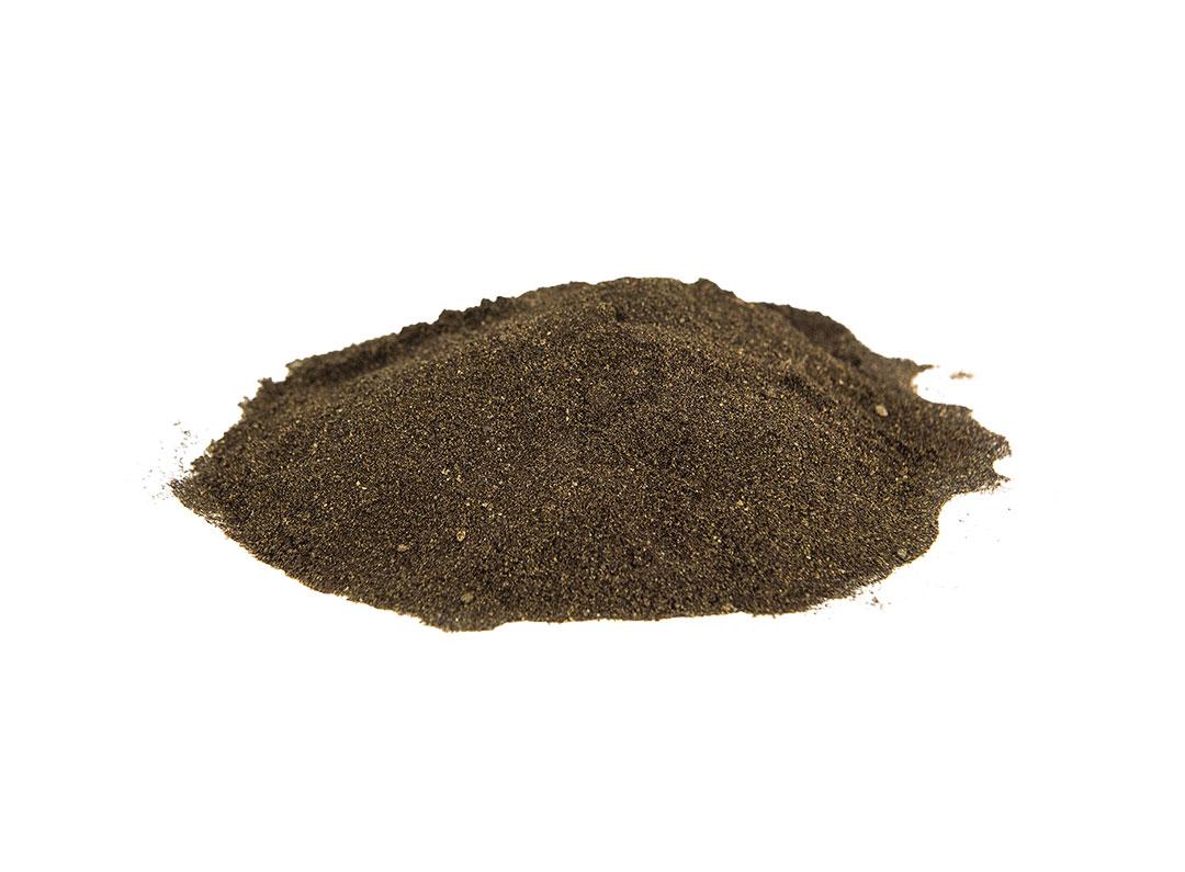 BioAgPhos image of dark brown soil type fertiliser