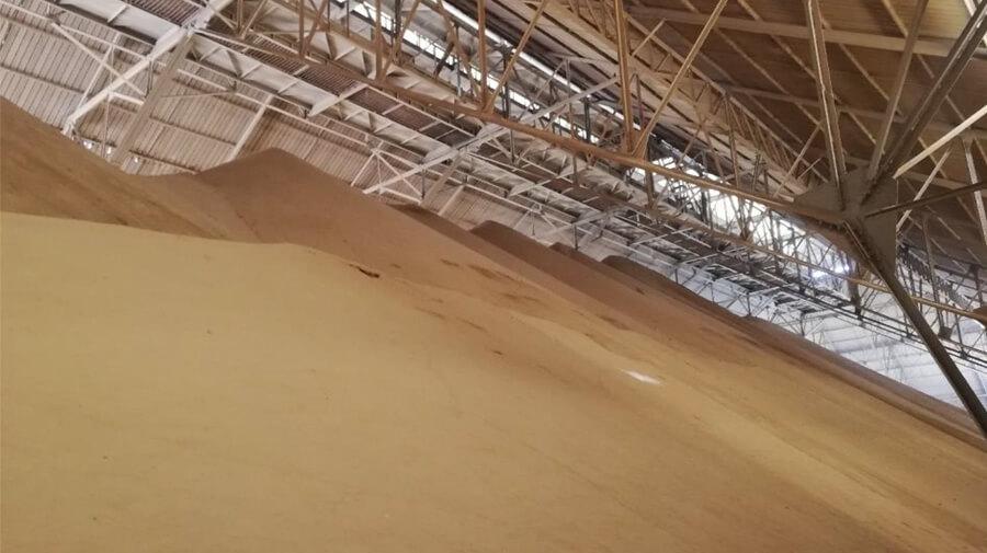 Phosphorus in storage shed