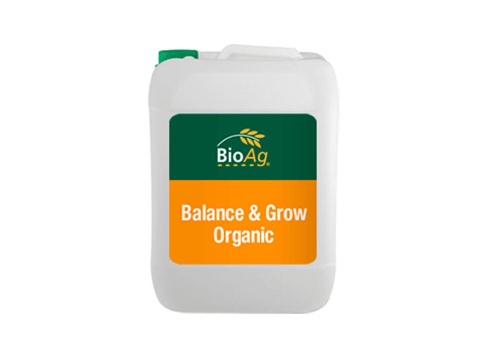 BioAg Biostimulant product Balance & Grow Organic