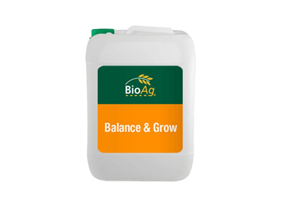BioAg Biostimulant product Balance & Grow