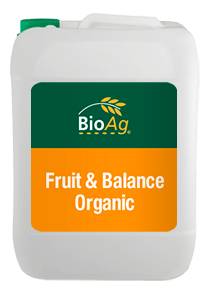 BioAg Biostimulant product Fruit & Balance Organic