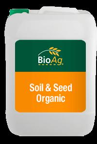 BioAg Biostimulant product Soil & Seed Organic