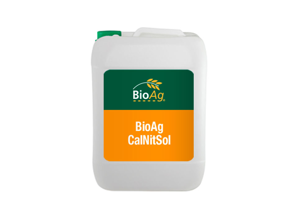 BioAg liquid fertiliser product CalNitSol