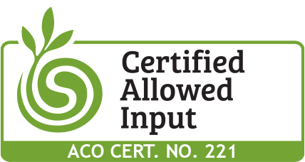 Certified Allowed Input Logo ACO CERT NO 221