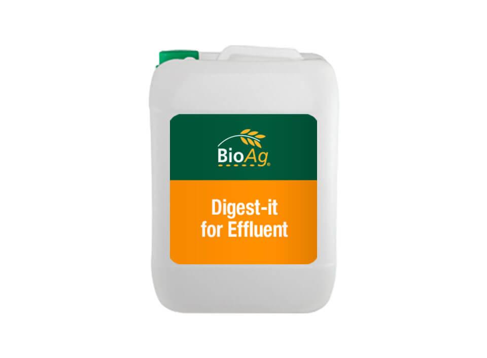 BioAg Digest-it product for Effluent