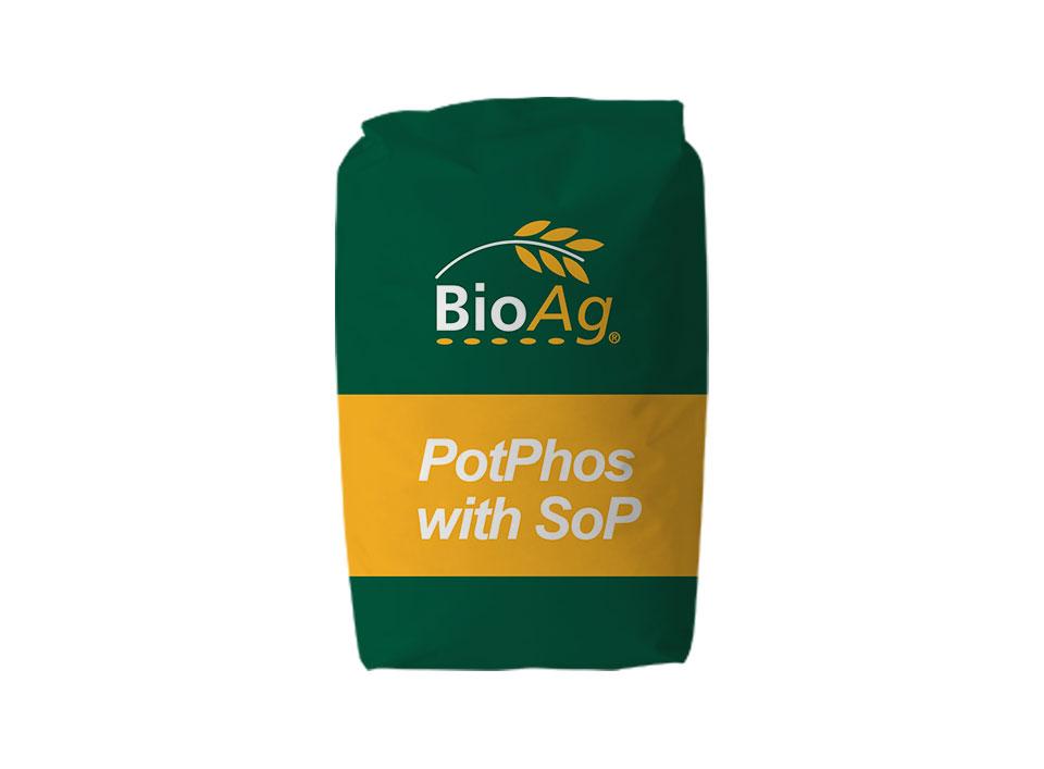 BioAg product shot of PotPhos with SoP